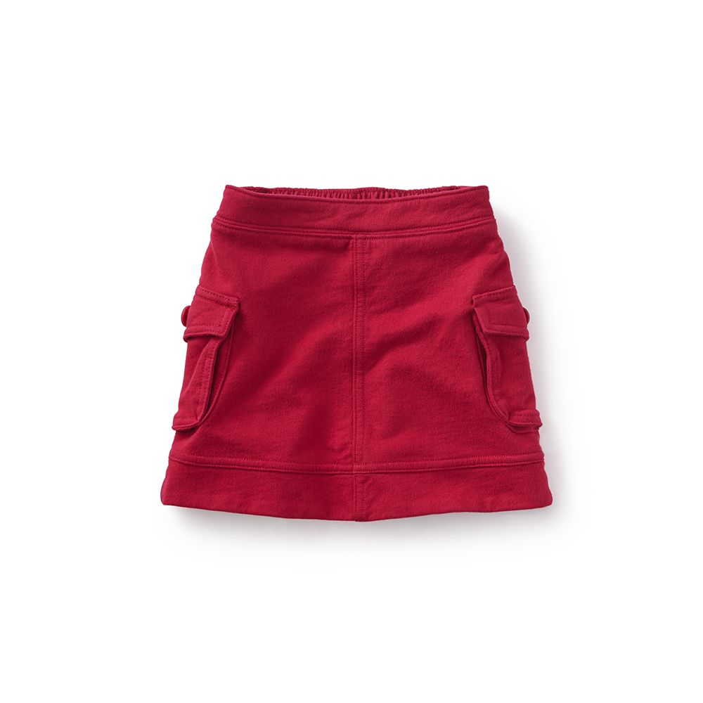 master tea collection french terry cargo skirt