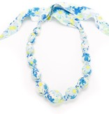 fashion accessory beaded cloth summer floral necklace
