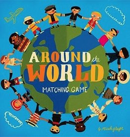 playtime Around The World Matching Game