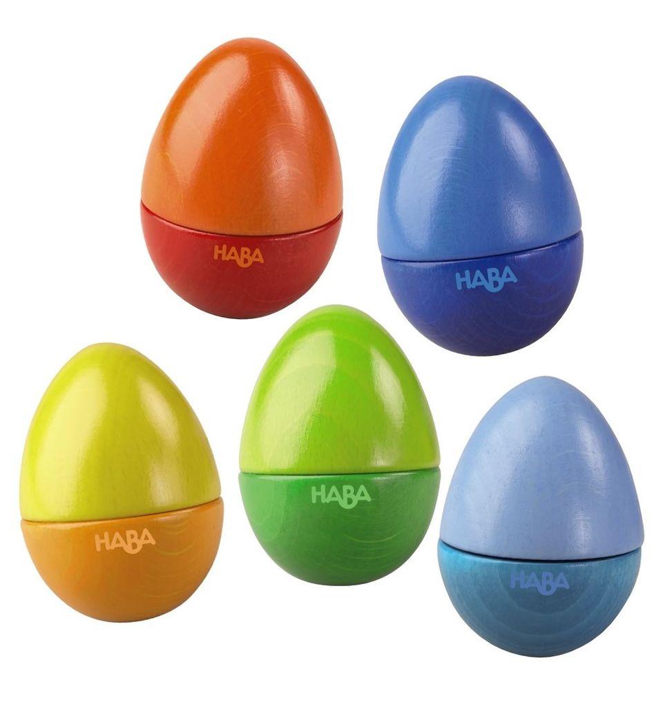 playtime haba shakin eggs