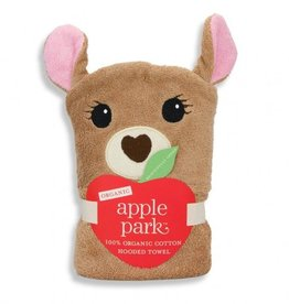 bath ap fawn hooded towel
