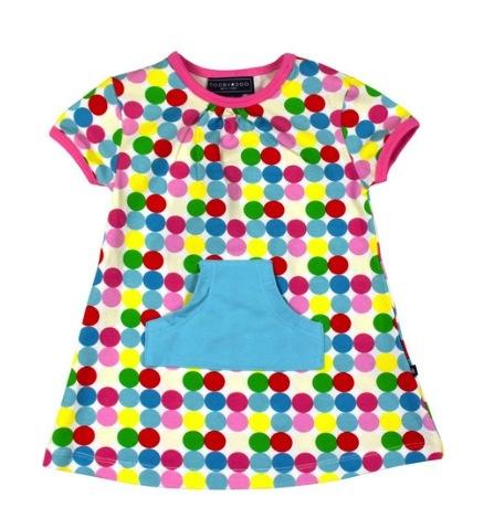 baby girl toobydoo happy dots play dress