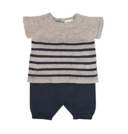 baby petit oh 2 piece knitted outfit