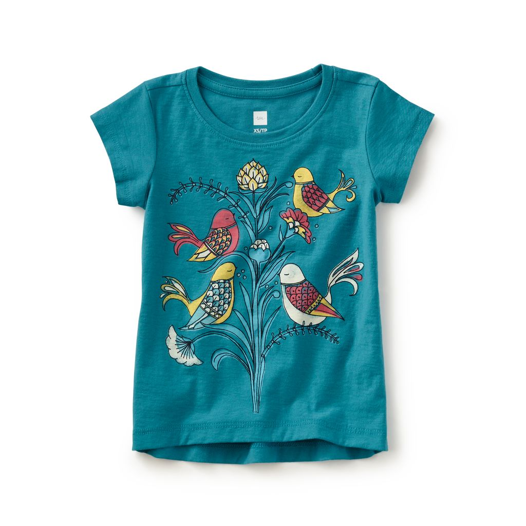 master tea collection italian sparrows graphic tee