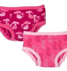 toddler girl kickee pants girl training pants set