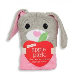 bath ap bunny infant hooded towel