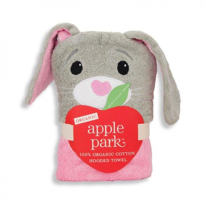 bath ap bunny infant hooded towel