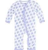 baby girl kickee pants fitted ruffle coverall