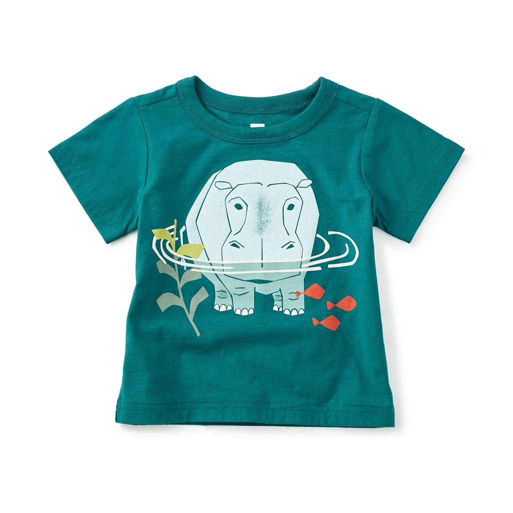 master tea collection hippo pond baby tee