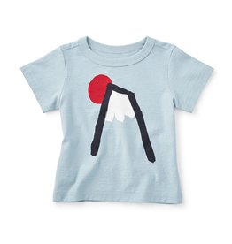 master tea collection mount fuji baby graphic tee