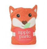 bath ap fox infant hooded towel