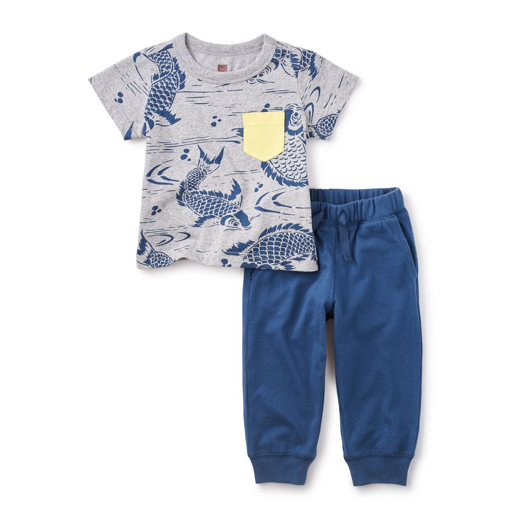 master tea collection koi baby outfit