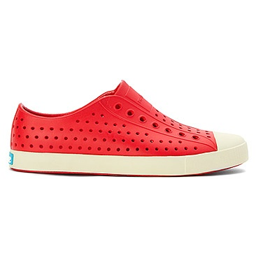 fashion accessory native jefferson shoes, red
