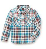 master tea collection visu flannel shirt