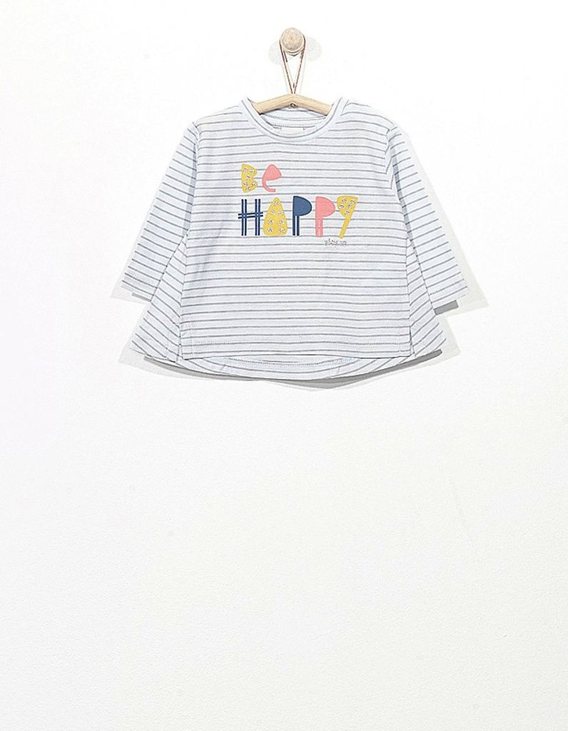baby girl striped t-shirt