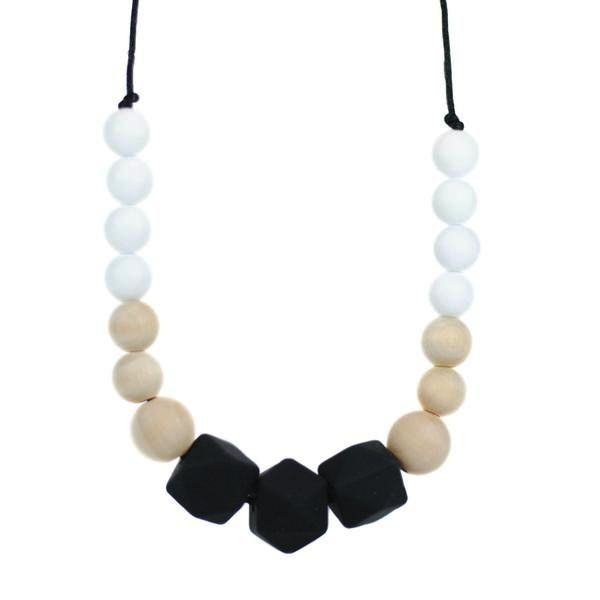 jewelry addison silicone teething necklace