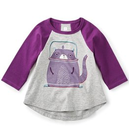 toddler girl tea collection tanuki teapot graphic tee