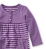 little girl tea collection ponpon henley romper