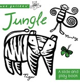 book wee gallery: jungle, a slide and play book