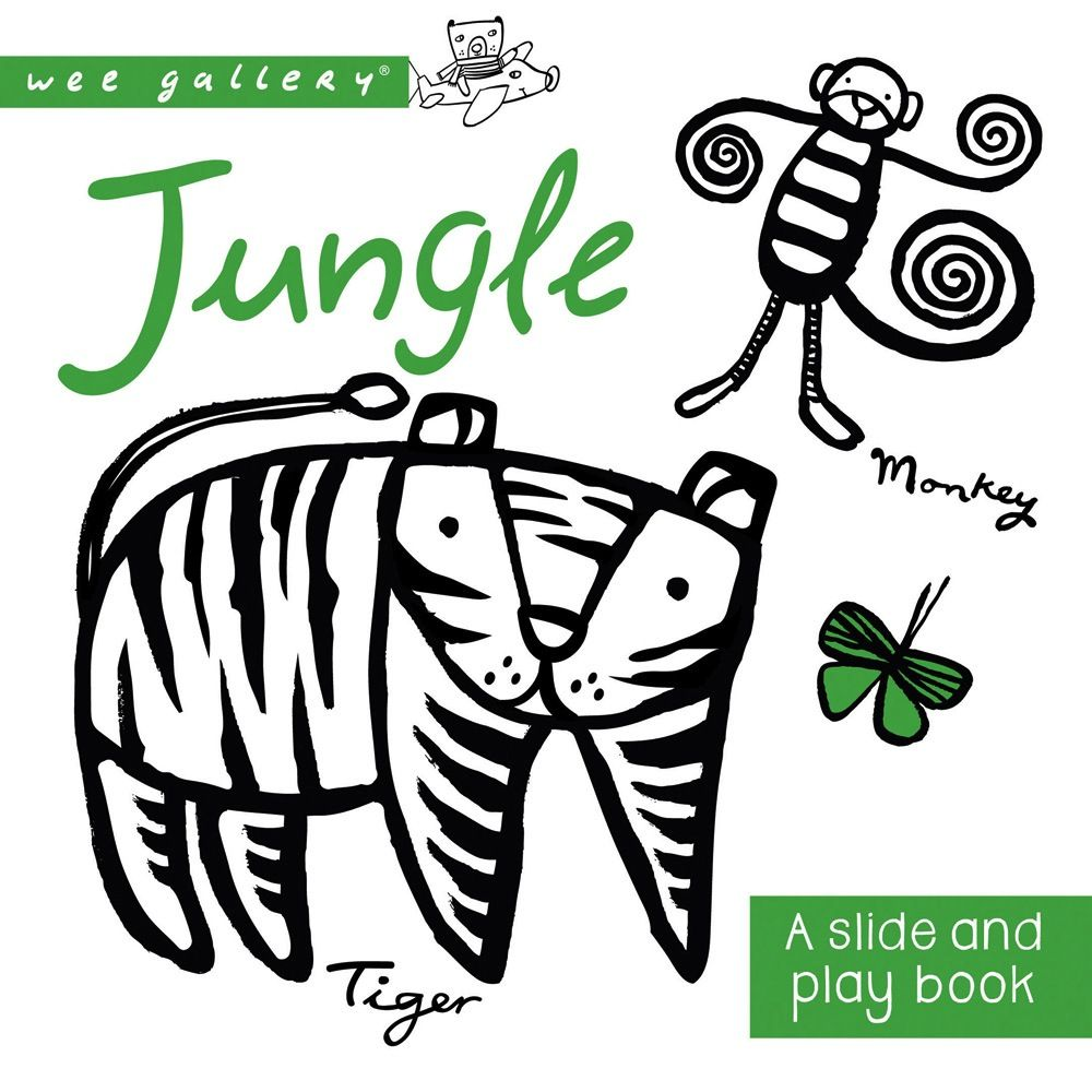 book wee gallery: jungle