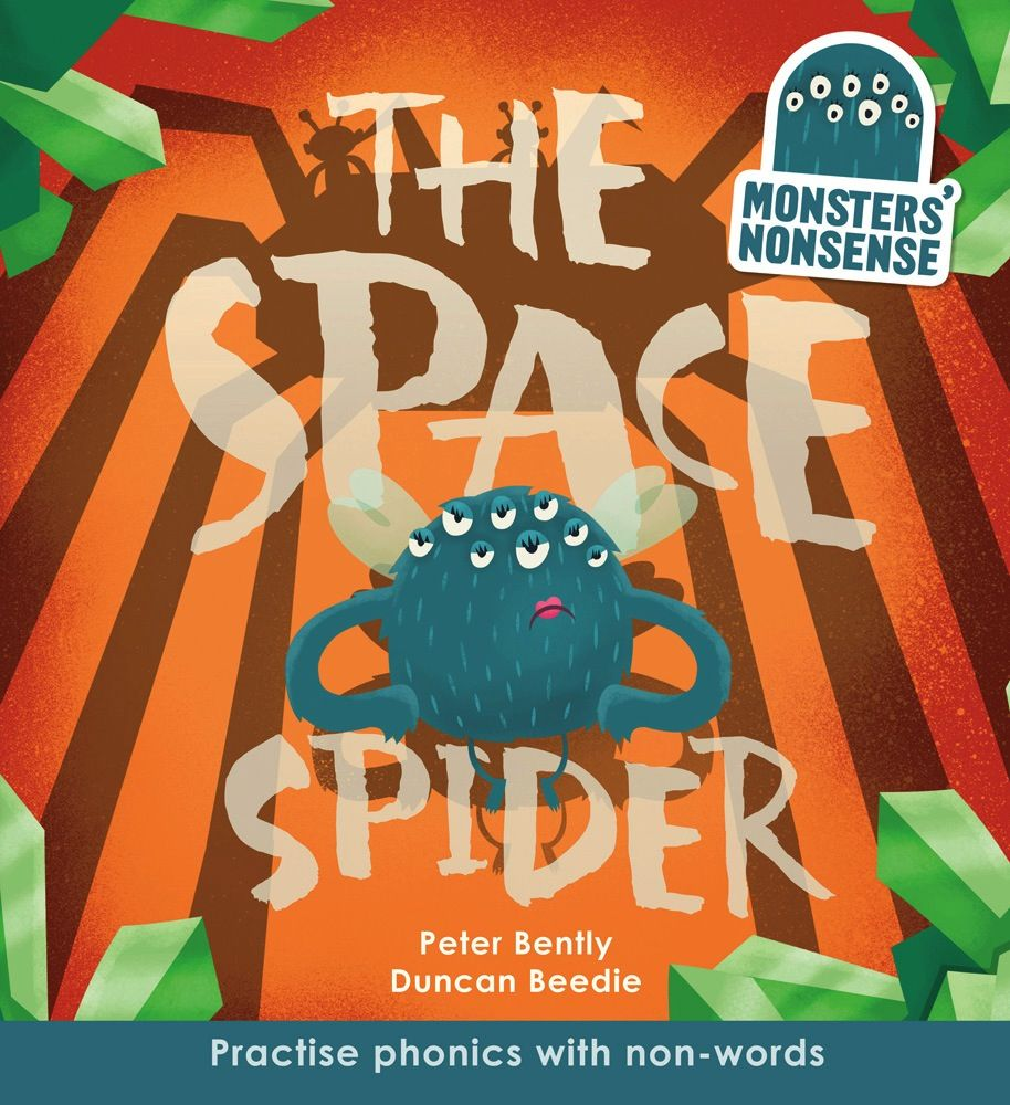 book monsters' nonsense: san and the space spider (book 4)