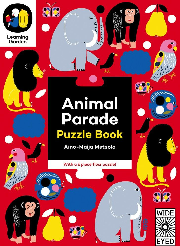 book animal parade: puzzle book