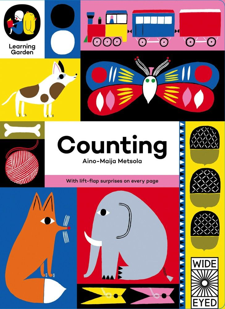 book counting: with lift-flap surprises