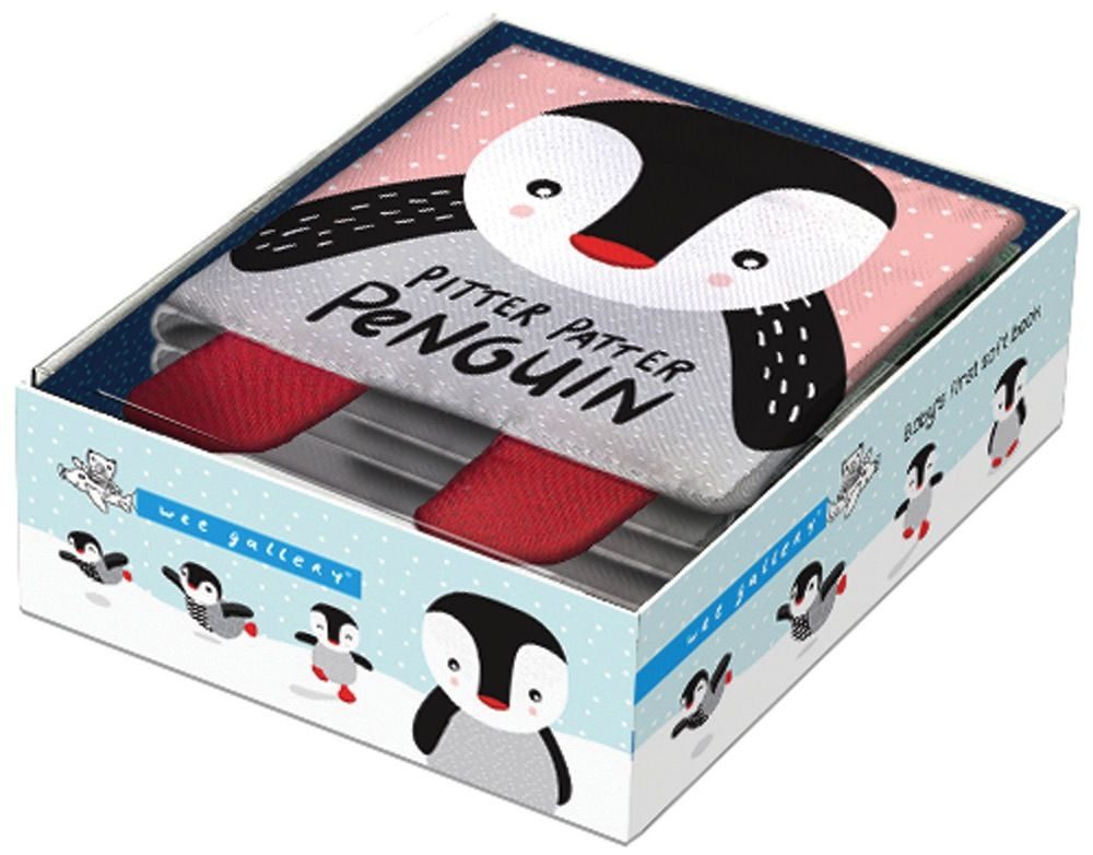 book pitter patter penguin: soft book
