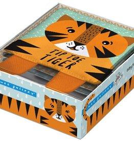 book tip toe tiger: soft book