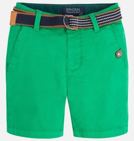 boy belted shorts
