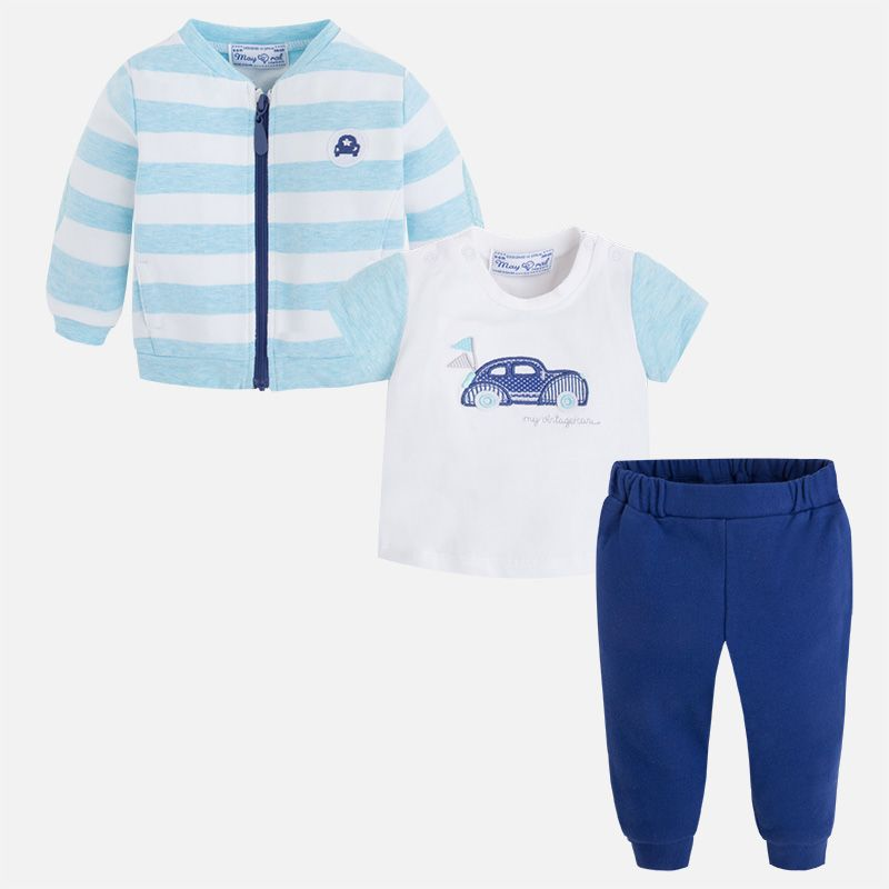 baby boy 3 pc track suit