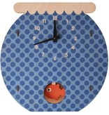 decor modern moose fishbowl pendulum clock