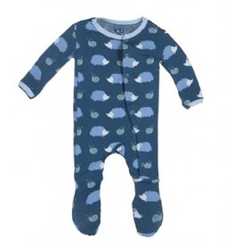 baby boy kickee pants print footie