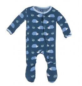 baby boy kickee pants print footie