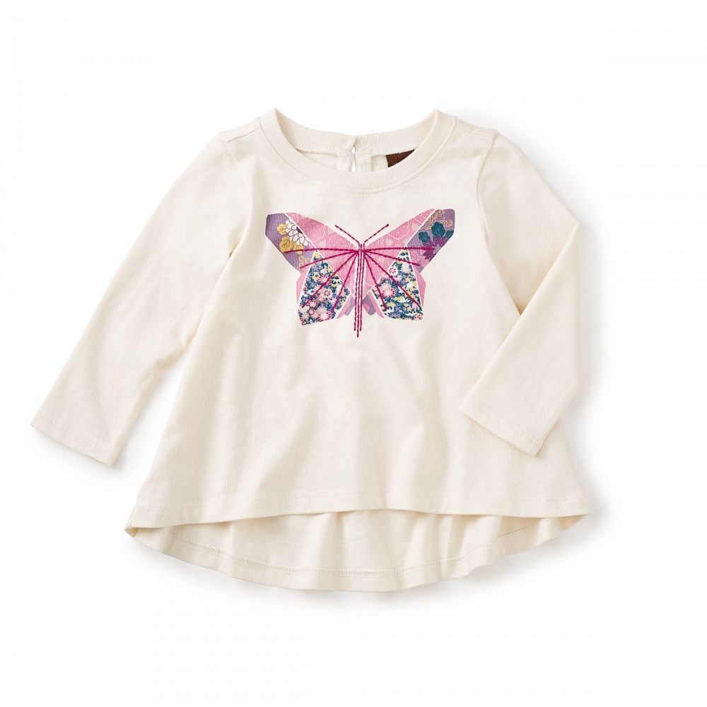 little girl tea collection furatta graphic baby top