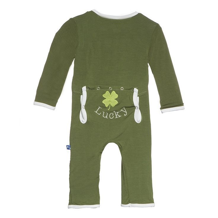 baby boy kickee pants applique coverall