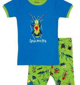 boy short pajama set