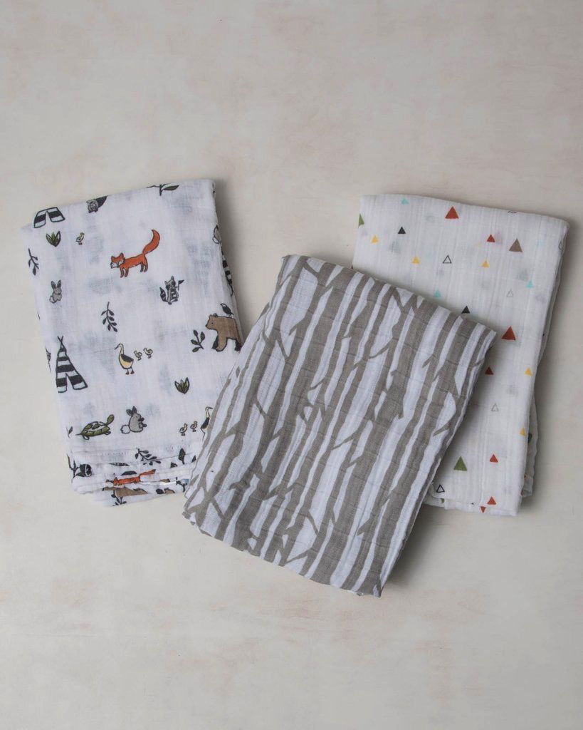 functional accessory little unicorn cotton muslin swaddle