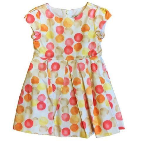 girl dots dress