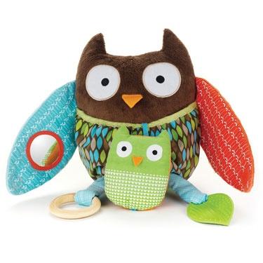 playtime Skip Hop hug and hide owl