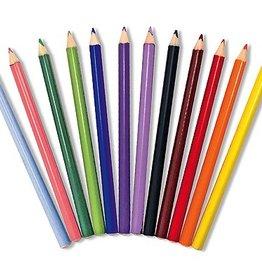 playtime zz jumbo triangular colored pencils, DISC