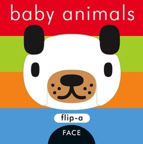 book flip-a-face: baby animals