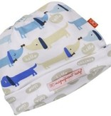 baby boy magnificent baby hot dog reversible hat, blue