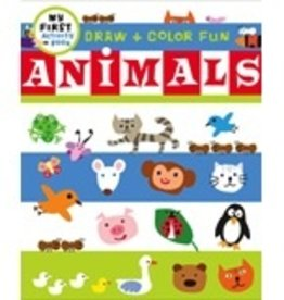 book draw & color animals