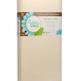 furniture lullaby earth super lightweight crib mattress: 2-stage
