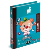 playtime crazy faces magnetic book