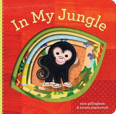 book in my jungle: finger puppet book