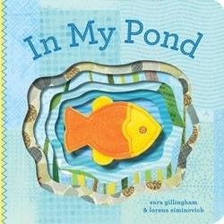 book In My Pond: finger puppet book