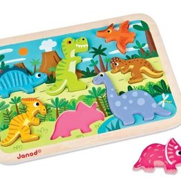 playtime dinosaurs chunky puzzle