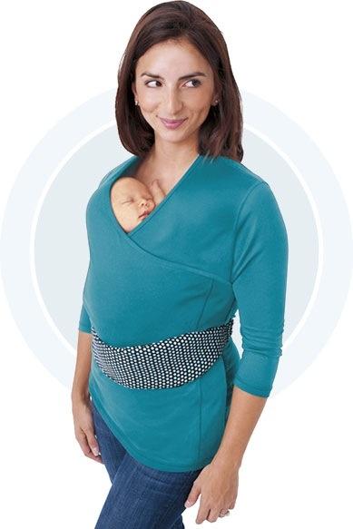 mama NuRoo Pocket 3/4 sleeve
